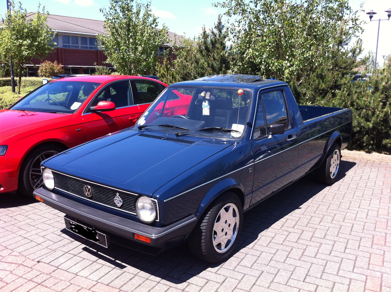 beautiful vw caddy