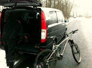 Vito and mountain bike