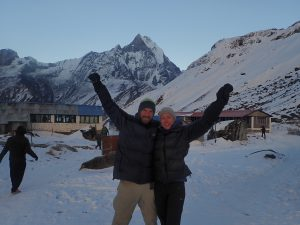 Getting to Annapurna base camp