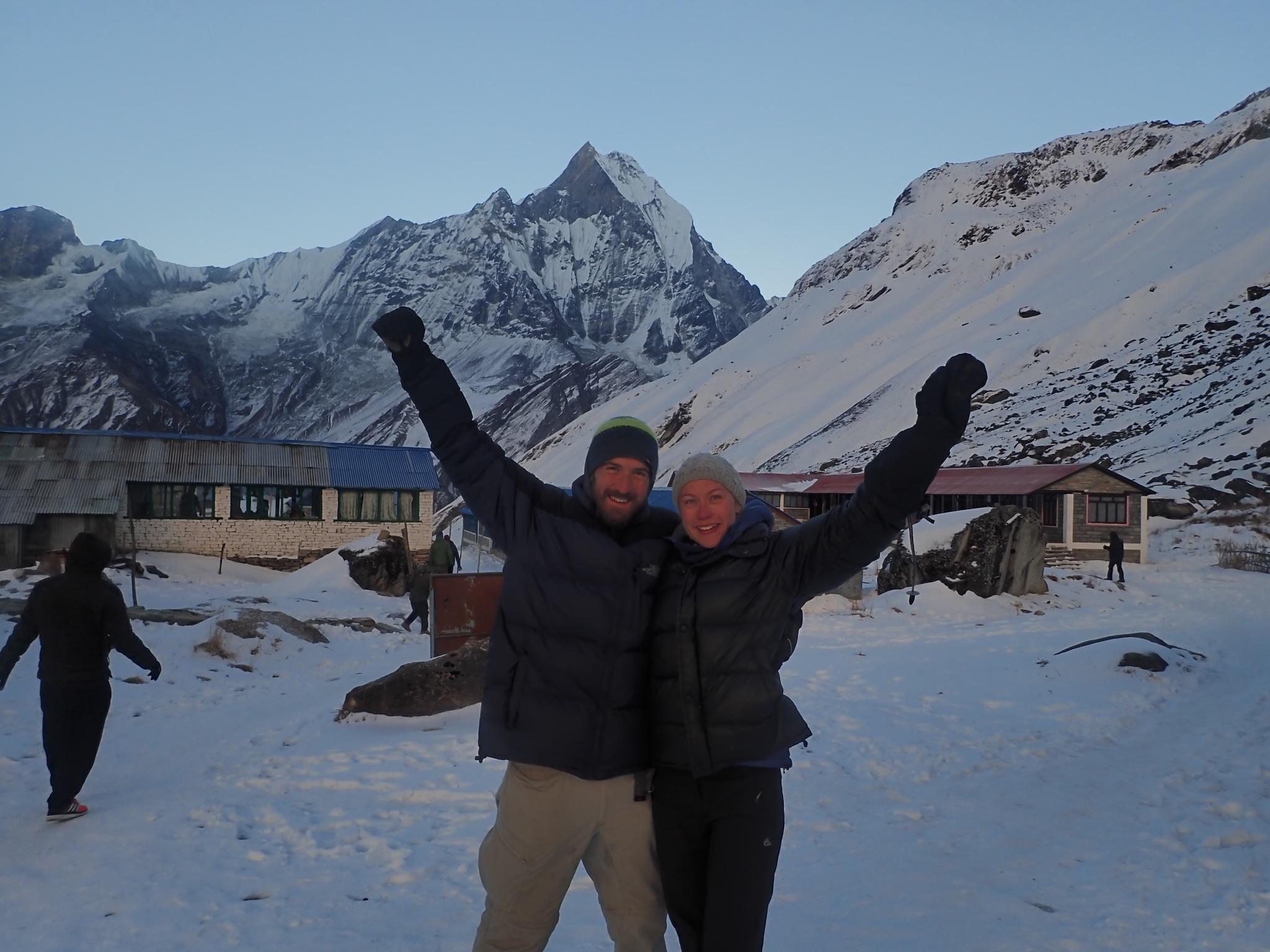 Getting to Annapurna base camp