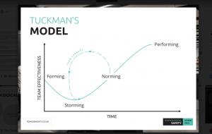 Tuckmans model of team performance