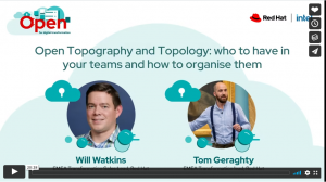 Open Topography and Topology